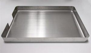 ステンレス材油圧プレス絞り加工、シンク一体成形